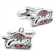 CLEVELAND CAVALIERS CUFFLINKS Basketball Sport Cavs NEW w GIFT BAG Father Groom