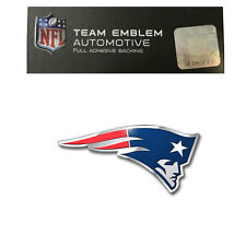 Promark New NFL New England Patriots Color Aluminum 3D Auto Emblem Sticker Decal