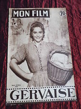 MON FILM- FRENCH MOVIE  MAGAZINE - MARIA SCHELL - ED CONSTANTINE - 1957 # 542