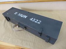 WW2 Wehrmacht Kiste Holzkiste Munitionskiste für Ofenrohr Panzerschreck Granaten