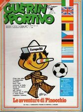 GUERIN SPORTIVO=N°24 1980=SPECIALE EUROPEI '80=M.BOSE'=NO POSTER