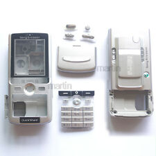 New Silver Cover Full Housing Case For Sony ERICSSON K750 K750i