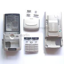 New Silver Cover Full Housing Case For Sony ERICSSON K750 K750i