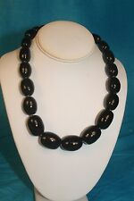 "NEW - KAZURI 18"" Charleston Beaded Necklace Black sku #1938"