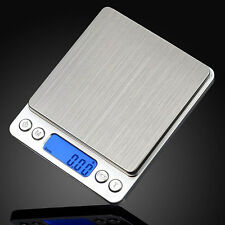 Portable 2000g/ 0.1g Jewelry Scale Weight Electronic Digital Balance LCD Display