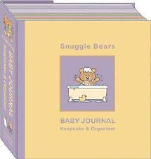 Snuggle Bears Baby Journal Organizer & Keepsake, Alex Lluch, Elizabeth Lluch