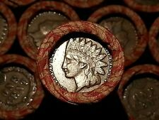 (1) ONE LINCOLN WHEAT CENT PENNY AND??? MIX ROLL INDIAN HEAD END!  1909-1958