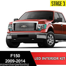 14pcs White LED Light Interior License Package Kit For Ford F-150 2009-2014