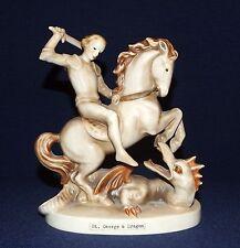 Hummel figure of St. George and the Dragon, St. Georg und der Drache,Hummelfigur
