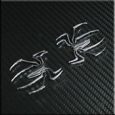 Car  Spider(small) Trunk  Badge Chrome Emblem Sticker Side Badges 2pcs set