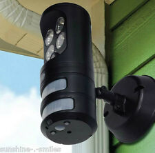 Motion Activated Security Light Outdoor Tracking Sensor LED Spotlight Flood