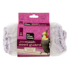"""All Living Things Mesh Seed Guard for MD/LG Bird Cages Circumference 40"""" – 85"""""""