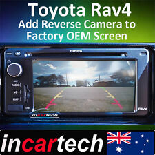 Toyota Rav4 10-15 Reverse Camera Integration For OEM Factory Navigation Screen