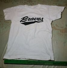 Vintage Kids Youth T shirt Eau Claire Braves Baseball WI Wis Wisconsin