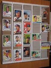 2005 Topps Heritage Baseball Base & Inserts Large Lot approximately 250 Cards