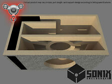 STAGE 2 - PORTED SUBWOOFER MDF ENCLOSURE FOR ROCKFORD FOSGATE T1D210-T1D410