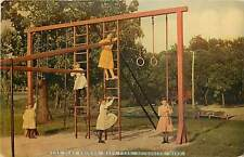 Minnesota, MN, Rochester, the Play Ground, Mayo Park Early Postcard