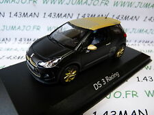 VOITURE 1/43 NOREV : CITROËN DS 3 racing 2013 gold
