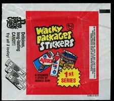 Wacky Packages Advert 2 Stickers Wrapper #W32