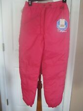 NWTs Swiss Alps Girls 7 Pink Ski Pants Snowboard Winter Waterproof Insulated New