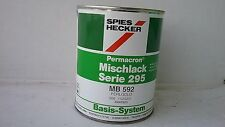 Spies Hecker Solvent Basecoat 1 litre  Mixing tinter    MB592    Pearl Gold