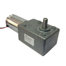 DC 12V 9RPM High-torque Worm Reducer Geared Motor Low Speed for BBQ Replacements