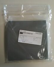 3M LAPPING FILM 6X6 468XW 3MIC 3MIL Silicon Carbide PSA STICKY BACK PACK OF 50