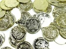 Pack of 72 Pirates Pirate Treasure Coins Party Halloween Loot Bag Filler  399879