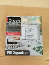 Large 7 Day Pill Organiser Dispenser Weekly Tablets Storage Box Holder