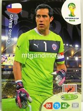 Adrenalyn XL - Claudio Bravo - Chile - Fifa World Cup Brazil 2014 WM