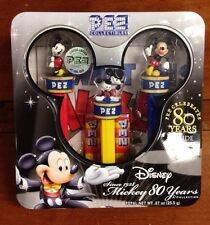Disney Mickey Mouse PEZ Collectibles Collection 80 Years