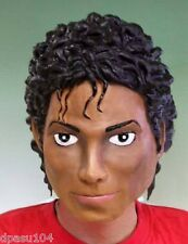Michael Jackson Rubber Head Costume Party Mask Thriller