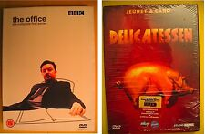 TWO REGION 2 PAL DVDs: The Office Series One Ricky Gervais & FRENCH Delicatessen