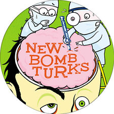 CHAPA/BADGE NEW BOMB TURKS . pin button punk hellacopters nine pound hammer