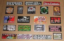 100 Aufkleber Sticker Ultras Ultra MIX 20 Motive 2