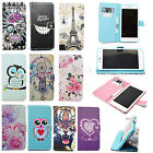 Stand Wallet Flip PU Leather Cover TPU Case For Samsung Sony LG HTC Mobile Phone