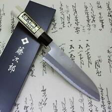 Japanese Knife Tojiro Chef White Steel Shirogami Grinding Finish Santoku F/S