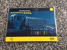 Coffret officiel Office des Timbres 8 pièces LUXEMBOURG 2004