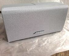 Bose SILVER **{NEW}** Center Channel Double Cube Speaker Acoustimass Lifestyle.