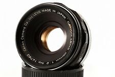 """Exc"" Canon 35mm F/2  Leica Screw Mount LTM 39 Lens, From Japan"