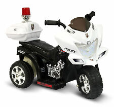 Ride On Toys Police Motorcycle Battery Powered Electric Cars for Kids to Ride