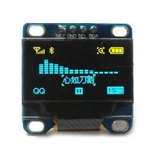 """1PCS Yellow Blue 0.96"""" SPI SSD1306 128X64 OLED LCD Display Module STM32/AVR/51"""