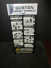 BOSTON BRUINS 2014-2015 HOCKEY MAGNET SCHEDULE