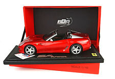 1:18 BBR Ferrari 599 Super America Aperta 2010 Red Rosso Fuoco UNIQUE ON EBAY
