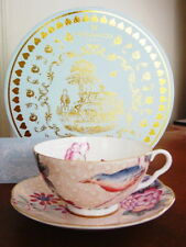 Wedgwood Tea Story CUCKOO PEACH Cup and Saucer Set - NEW / BOX!