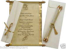scroll wedding invitation,birthday invitation cards,anniversary invitations S147