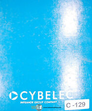 Cybelec PC DNC 1200, PC900 PC 80/800/900 Program Operation & Install Manual 2000