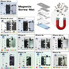 11in1 Magnetic Screw Mat Repair Guide Pad For iPhone 4 4s 5 5c 5s 6 6s 7 Plus