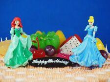 Tortenfigur Disney Princess Ariel Cinderella Glass Slipper Figur Modell A629 JK