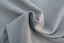 ,D153 MID GREY 100%COTTON SOFT TOUCH MOLE SKIN MADE FOR HUGO BOSS IN ITALY